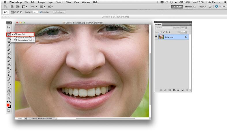Como Clarear Seus Dentes Com Photoshop Cs5 Info 54